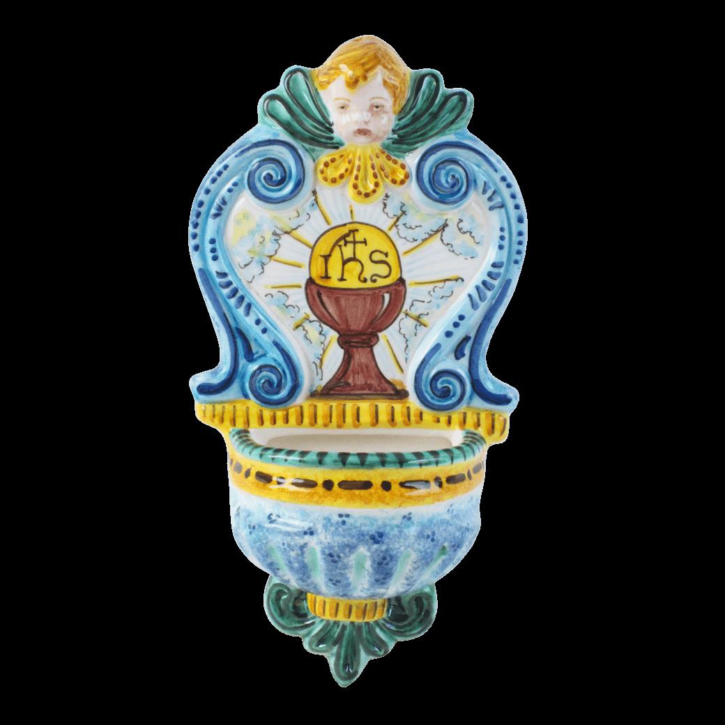 Holy Water Holder 9 45 Quot Ceramiche Sambuco Mario