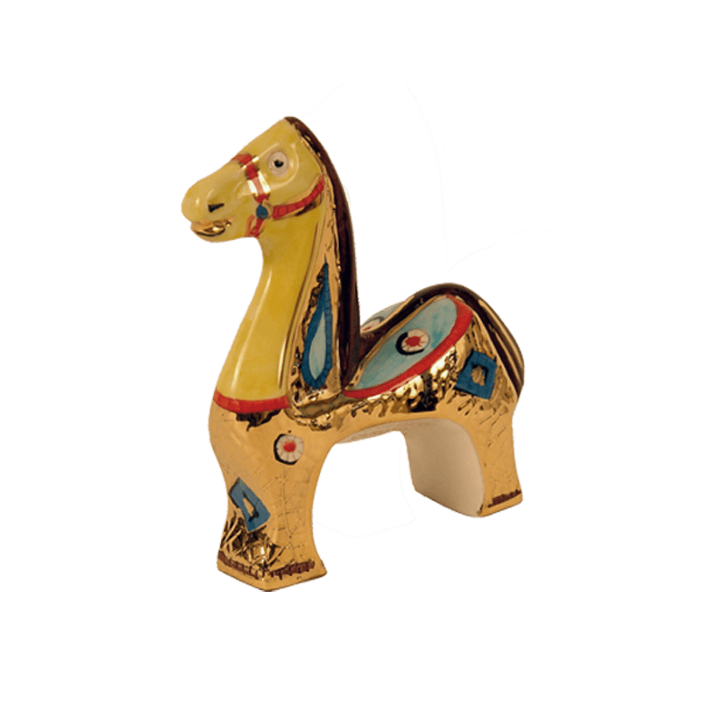 Horse 14x15cm Ceramiche Sambuco Mario