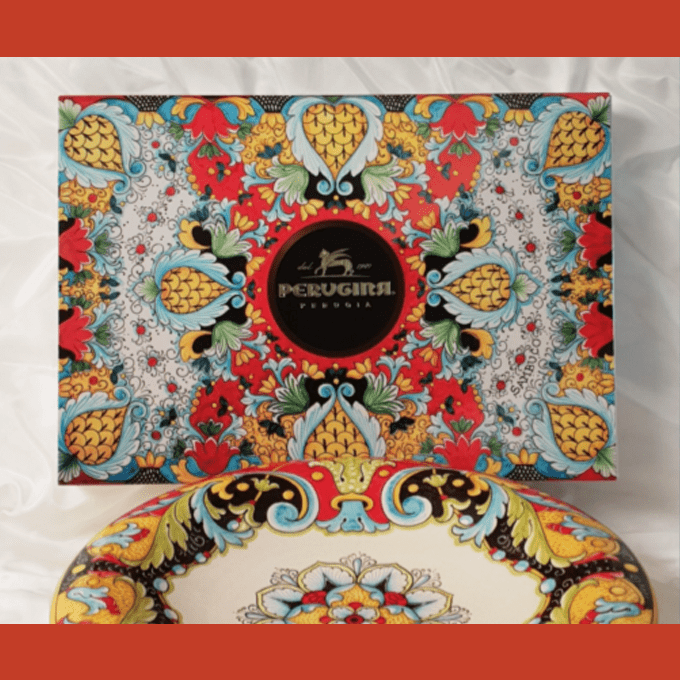 Ceramiche Sambuco and Perugina®... to tell a timeless story.