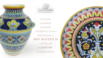 Sambuco' ceramics on