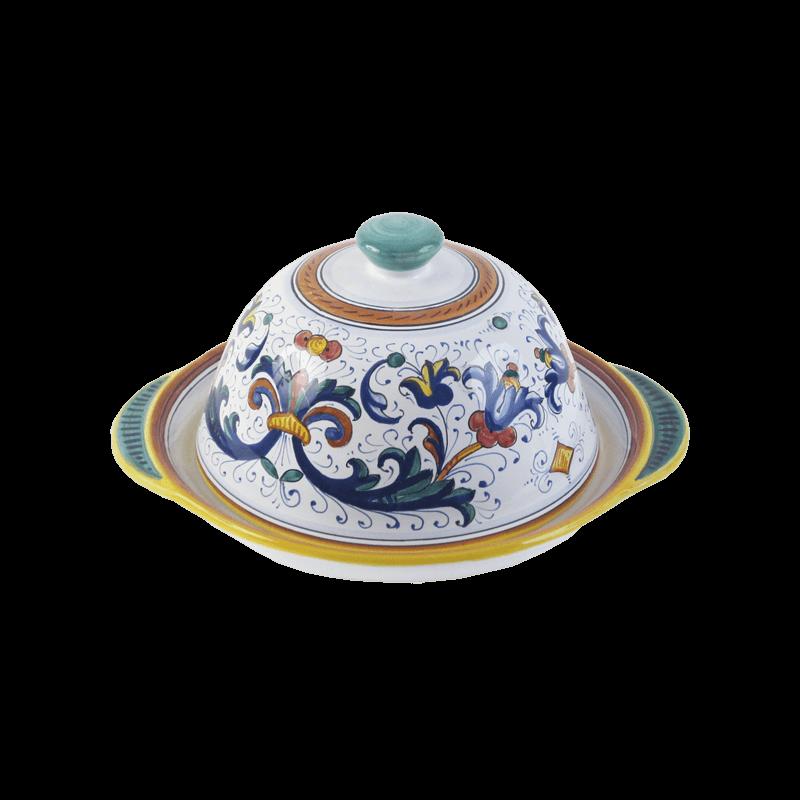 Tray W Lid 23 5 13 Ceramiche Sambuco Mario