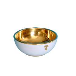 OFFERTORY PATEN 5 1/2in W/BRASS GOLD PLATED CUP
