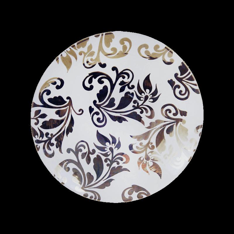 Wall Decor Plate 50cm Ceramiche Sambuco Mario
