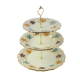 CAKE STAND 3PLATES 28X35CM