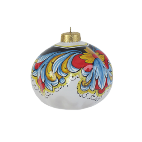 SKETCHED CHRISTMAS ORNAMENT 10CM