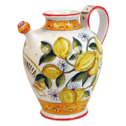 ORNAMENT PITCHER 40CM W/HNDL