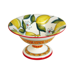 FRUIT DISH W/FOOT 30CM