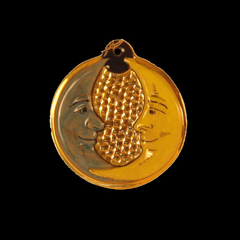 Medallion 10cm Ceramiche Sambuco Mario