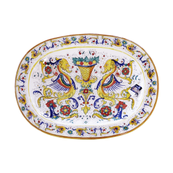 OVAL PLATE 78X59CM