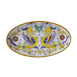 OVAL PLATE 80X45CM