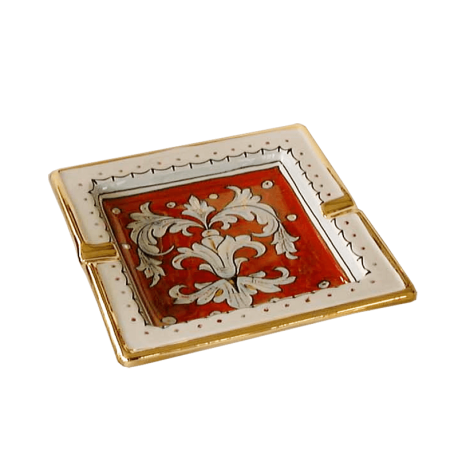 SQUARE ASHTRAY 18CM