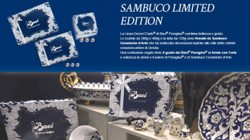 Sambuco and Perugina® together for a combination of beauty and teste.