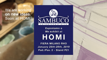 Sambuco exhibits at